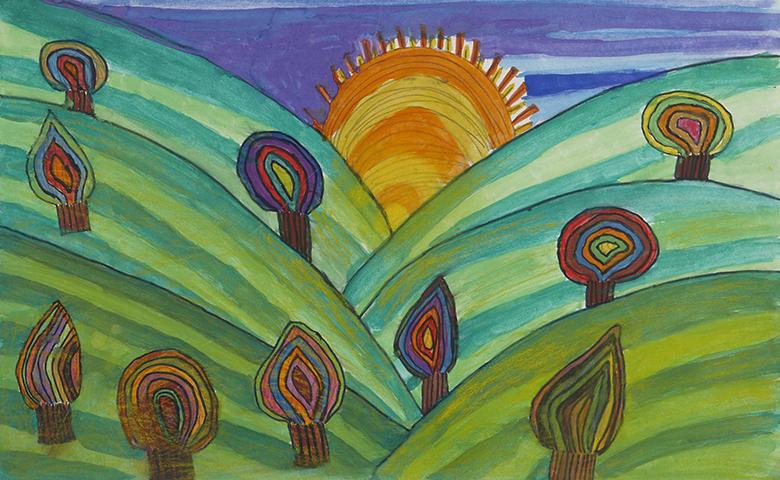 """Sunrise"", Girl (11), Romania"
