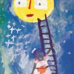 """""""Jeg går til månen/I am going to the Moon"""" (5) India"""